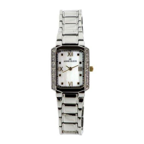 アンクライン 腕時計 レディース 10-9609MPTT Anne Klein Women's 10-9609MPTT Classsic White MOP Watchアンクライン 腕時計 レディース 10-9609MPTT