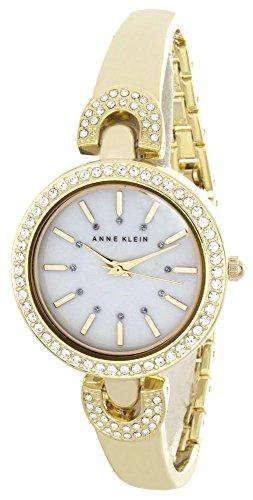アンクライン 腕時計 レディース AK/2578MPGB 【送料無料】Anne Klein Women's Pearl Dial Gold Tone Metal Bracelet Bangle Watch AK/2578MPGBアンクライン 腕時計 レディース AK/2578MPGB