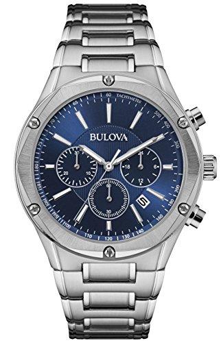 ブローバ 腕時計 メンズ 96B248 【送料無料】Bulova Chronograph Blue Dial Mens Watch 96B248ブローバ 腕時計 メンズ 96B248