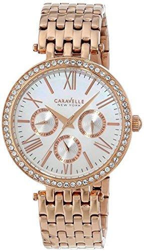 腕時計 ブローバ レディース 44N101 【送料無料】Caravelle New York Women's 44N101 Analog Rose Gold Dress Watch腕時計 ブローバ レディース 44N101