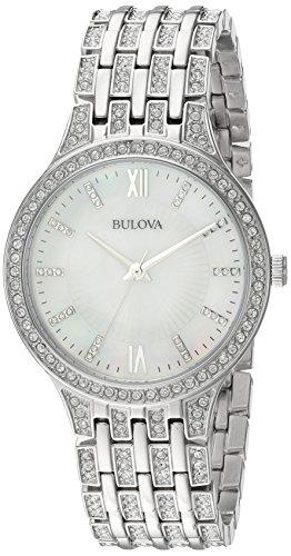 ブローバ 腕時計 レディース 96L242 【送料無料】Bulova Women's 96L242 Swarovski Crystal Stainless Steel Watchブローバ 腕時計 レディース 96L242