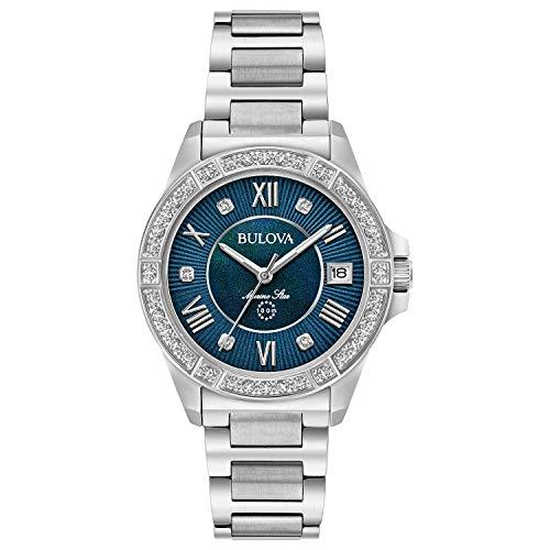 """ブローバ 腕時計 レディース 96R215 【送料無料】Bulova Women""""s Analog-Quartz Watch with Stainless-Steel Strap, Silver, 15 (Model: 96R215)ブローバ 腕時計 レディース 96R215"""