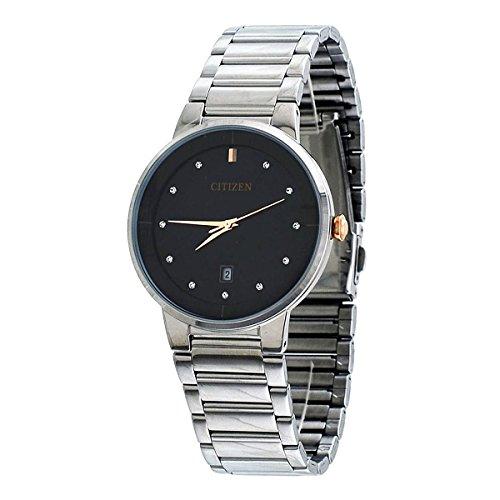 シチズン 逆輸入 海外モデル 海外限定 アメリカ直輸入 CZ BI5014-58E Citizen Black Dial Stainless Steel Quartz Analog Men's Watch CZ BI5014-58Eシチズン 逆輸入 海外モデル 海外限定 アメリカ直輸入 CZ BI5014-58E