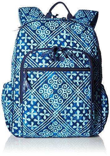 ヴェラブラッドリー ベラブラッドリー アメリカ フロリダ州マイアミ 日本未発売 18198 Women's Campus Tech Backpack, Signature Cotton, Cuban Tilesヴェラブラッドリー ベラブラッドリー アメリカ フロリダ州マイアミ 日本未発売 18198