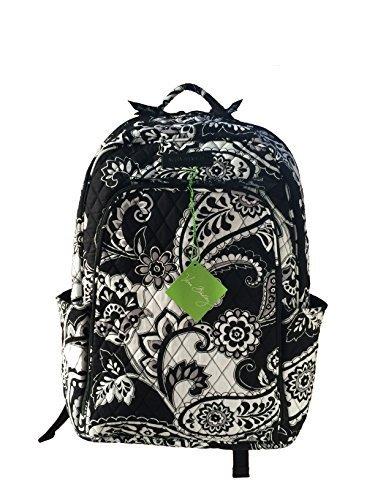 ヴェラブラッドリー ベラブラッドリー アメリカ フロリダ州マイアミ 日本未発売 14417-201 Vera Bradley Laptop Backpack (Updated Version) with Solid Color Interiors (Midniヴェラブラッドリー ベラブラッドリー アメリカ フロリダ州マイアミ 日本未発売 14417-201