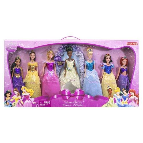 ディズニープリンセス Disney Princess Shimmer Doll Collection - NEW FOR 2009 INCLUDES NEWEST PRINCESS!ディズニープリンセス