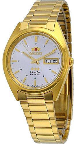 腕時計 オリエント メンズ FAB00002W 【送料無料】Orient #FAB00002W Men's 3 Star Standard Gold Tone Silver Dial Automatic Watch腕時計 オリエント メンズ FAB00002W