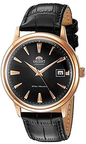 オリエント 腕時計 メンズ FAC00001B0 【送料無料】Orient Men's 2nd Gen. Bambino Ver. 1 Stainless Steel Japanese-Automatic Watch with Leather Strap, Black, 21 (Model: FAC00001B0)オリエント 腕時計 メンズ FAC00001B0