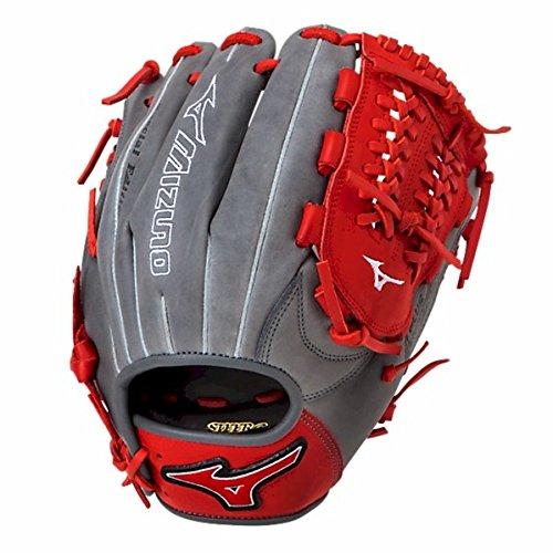 グローブ 内野手用ミット ミズノ 野球 ベースボール 312259.R910.12.1175 Mizuno MVP Prime SE GMVP1177PSE4 Infield Gloves, Smoke/Red, Right Handグローブ 内野手用ミット ミズノ 野球 ベースボール 312259.R910.12.1175
