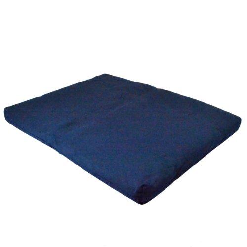 ヨガ フィットネス A241ZABBLU01 Yoga Direct 100-Percent Cotton Zabuton Meditation Cushion, Blueヨガ フィットネス A241ZABBLU01