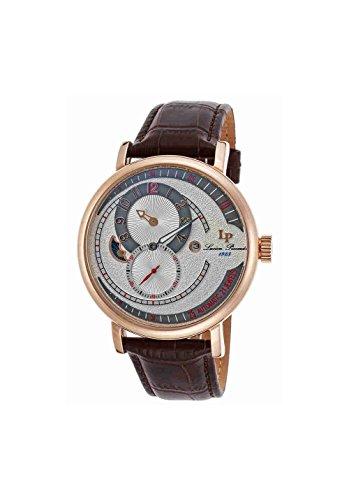 ルシアンピカール 腕時計 メンズ LP-15157-RG-02S-BRW Lucien Piccard Supernova Moonphase Automatic Men's Watch LP-15157-RG-02S-BRWルシアンピカール 腕時計 メンズ LP-15157-RG-02S-BRW