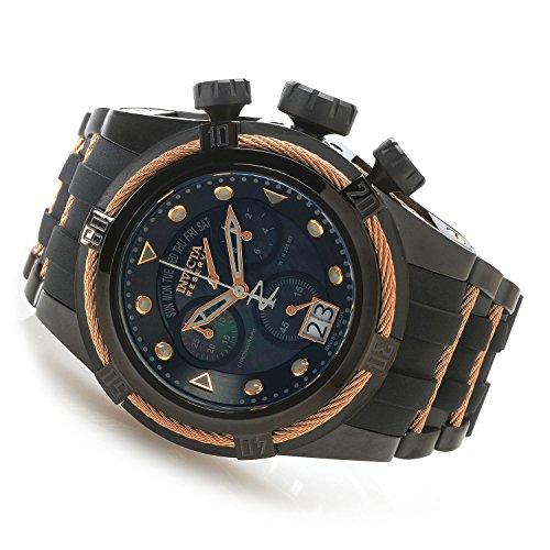インヴィクタ インビクタ ボルト 腕時計 メンズ 90007 【送料無料】New Mens 90007 Reserve Bolt Zeus Swiss Chronograph Black Rubber Watchインヴィクタ インビクタ ボルト 腕時計 メンズ 90007