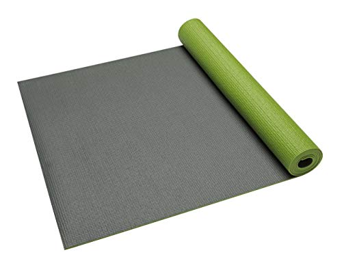 ヨガマット フィットネス 05-59141 Gaiam Yoga Mat Premium Solid Color Reversible Non Slip Exercise & Fitness Mat for All Types of Yoga, Pilates & Floor Exercises, Honeydew, 5mmヨガマット フィットネス 05-59141