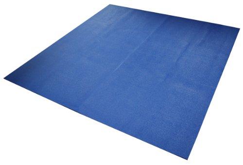 ヨガマット フィットネス A2B1MATBLU6F Yoga Direct 6-Feet Square Yoga Mat, Blueヨガマット フィットネス A2B1MATBLU6F