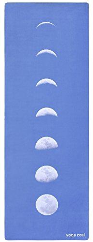 ヨガマット フィットネス 【送料無料】Blue Lunar Yoga Mat - Machine Washable, Printed, Non-Slip, Thick, Extra Long, Best Grip/Combo Mat, Great for Sweaty Practiceヨガマット フィットネス