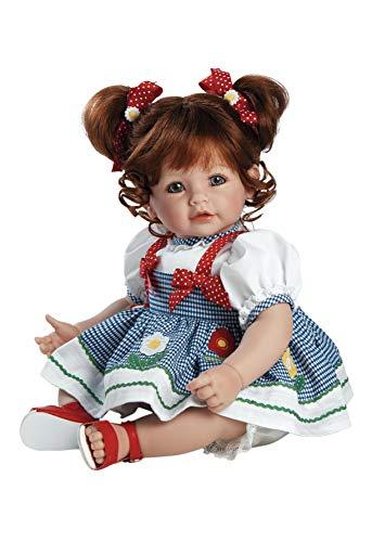 ファッションなデザイン アドラベビードール 赤ちゃん リアル 本物そっくり おままごと 2020907 Body Daisy Vinyl Adora Toddler Daisy Delight 20