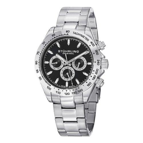 ストゥーリングオリジナル 腕時計 メンズ 564.02 【送料無料】Stuhrling Original Men's 564.02 Raceway Date Silverストゥーリングオリジナル 腕時計 メンズ 564.02