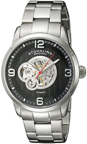 Stainless ストゥーリングオリジナル Original Men's Watch腕時計 Skeleton 腕時計 Legacy 648B.02 Automatic 648B.02 Steel 648B.02 メンズ ストゥーリングオリジナル メンズ 【送料無料】Stuhrling