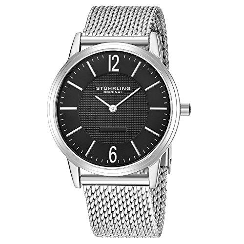 ストゥーリングオリジナル 腕時計 メンズ 122.33111 【送料無料】Stuhrling Original Men's 122.33111 Classic Ascot Somerset Elite Swiss Quartz Watch with Mesh Braceletストゥーリングオリジナル 腕時計 メンズ 122.33111