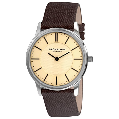 腕時計 ストゥーリングオリジナル メンズ 238.321K43 【送料無料】Stuhrling Original Men's 238.321K43 Classic Newberry Swiss Quartz Stainless Steel Mesh Bracelet Watch腕時計 ストゥーリングオリジナル メンズ 238.321K43