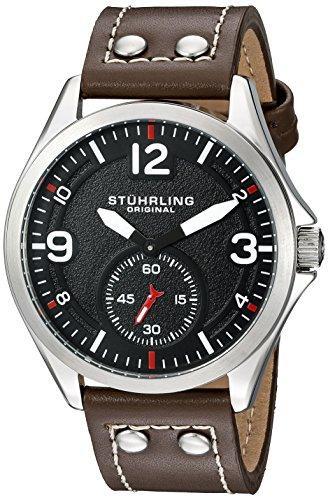 ストゥーリングオリジナル 腕時計 メンズ 684.01 Stuhrling Original Men's 684.01 Tuskegee Analog Display Quartz Brown Watchストゥーリングオリジナル 腕時計 メンズ 684.01
