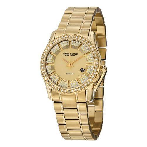 ストゥーリングオリジナル 腕時計 レディース 910.02 Stuhrling Original Women's 910.02 Symphony Calliope Gold-Tone Watchストゥーリングオリジナル 腕時計 レディース 910.02