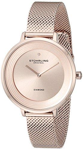 """ストゥーリングオリジナル 腕時計 レディース 589.05 【送料無料】Stuhrling Original Women""""s 589.05 Symphony Analog Display Quartz Rose Gold-Tone Watchストゥーリングオリジナル 腕時計 レディース 589.05"""