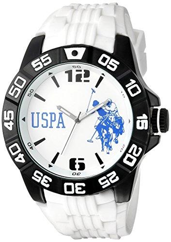 ユーエスポロアッスン 腕時計 メンズ USP9032 U.S. Polo Assn. Sport Men's USP9032 Analog Display Analog Quartz White Watchユーエスポロアッスン 腕時計 メンズ USP9032