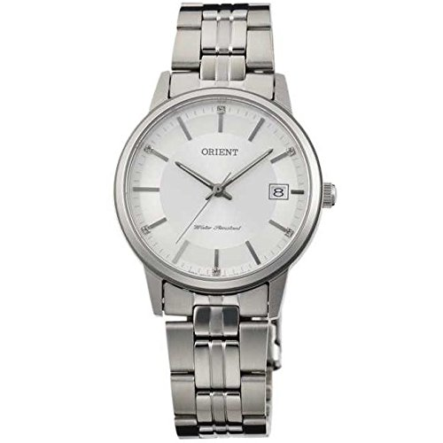 オリエント 腕時計 レディース FUNG7003W0 Orient Women's 32mm Steel Bracelet & Case Sapphire Crystal Quartz White Dial Analog Watch FUNG7003W0オリエント 腕時計 レディース FUNG7003W0
