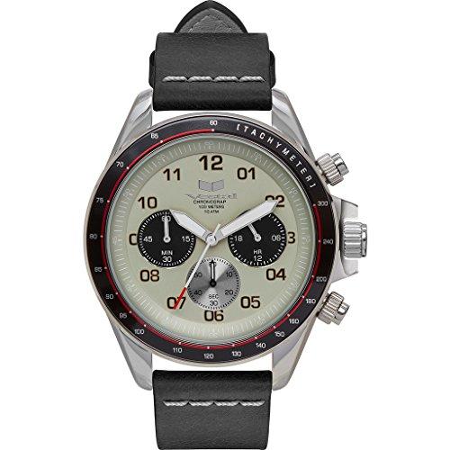 ベスタル ヴェスタル 腕時計 メンズ ZR2CL03 Vestal ZR2 Stainless Steel Japanese-Quartz Watch with Leather Calfskin Strap, Black, 20 (Model: ZR2CL03)ベスタル ヴェスタル 腕時計 メンズ ZR2CL03