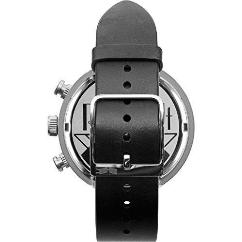 ベスタル ヴェスタル 腕時計 メンズ RSTCL06 Vestal Roosevelt Chrono Stainless Steel Japanese-Quartz Watch with Leather Calfskin Strap, Black, 20 (Model: RSTCL06)ベスタル ヴェスタル 腕時計 メンズ RSTCL06