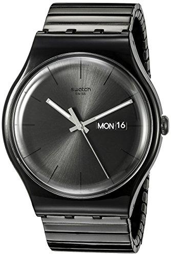 スウォッチ 腕時計 メンズ SUOB708B Swatch Unisex SUOB708B Mystery Life Analog Display Quartz Black Watchスウォッチ 腕時計 メンズ SUOB708B