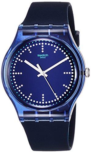 スウォッチ 腕時計 メンズ SUON121 【送料無料】Swatch Unisex Blue Pillow 37Mm Wrist Watch # Suon121スウォッチ 腕時計 メンズ SUON121