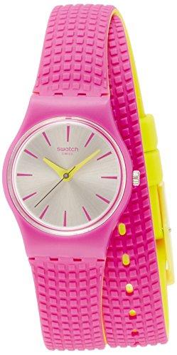 腕時計 スウォッチ レディース 夏の腕時計特集 LP143 【送料無料】Swatch FIOCCOROSA Silicone Ladies Watch LP143腕時計 スウォッチ レディース 夏の腕時計特集 LP143