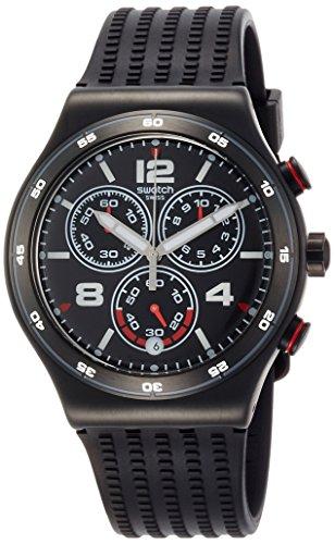 スウォッチ 腕時計 メンズ YVB404 Swatch Unisex Chronograph Quartz Watch with Silicone Strap YVB404スウォッチ 腕時計 メンズ YVB404