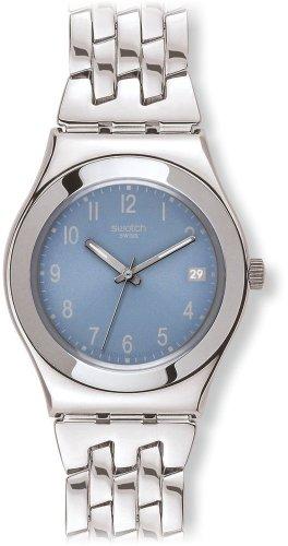スウォッチ 腕時計 レディース YLS439G Swatch Women's YLS439G Stainless Steel Analog with Blue Dial Watchスウォッチ 腕時計 レディース YLS439G