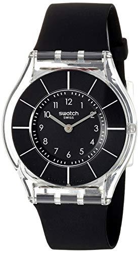 スウォッチ 腕時計 レディース SFK361 【送料無料】Swatch Women's 'Classiness' Quartz Plastic and Silicone Watch, Color:Black (Model: SFK361)スウォッチ 腕時計 レディース SFK361