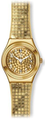 スウォッチ 腕時計 レディース YSG135 Swatch Dance Floor Women's Watch - Gold toneスウォッチ 腕時計 レディース YSG135
