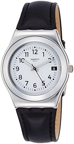 スウォッチ 腕時計 レディース YLS453 Swatch Irony Quartz Movement Silver Dial Unisex Watch YLS453スウォッチ 腕時計 レディース YLS453