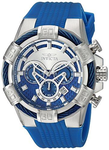 インヴィクタ インビクタ ボルト 腕時計 メンズ 24696 【送料無料】Invicta Men's Bolt Stainless Steel Quartz Watch with Silicone Strap, Blue, 32 (Model: 24696)インヴィクタ インビクタ ボルト 腕時計 メンズ 24696
