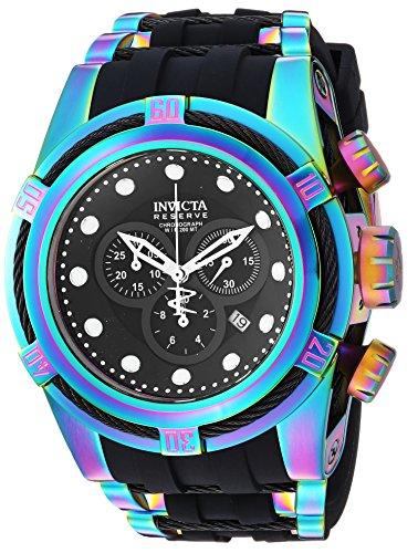 インヴィクタ インビクタ ボルト 腕時計 メンズ 22841 【送料無料】Invicta Men's Bolt Quartz Watch with Stainless-Steel Strap, Black, 36.8 (Model: 22841)インヴィクタ インビクタ ボルト 腕時計 メンズ 22841