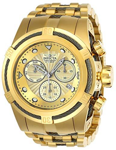インヴィクタ インビクタ ボルト 腕時計 メンズ 23913 【送料無料】Invicta Men's Bolt Quartz Watch with Stainless Steel Strap, Gold, 36.8 (Model: 23913)インヴィクタ インビクタ ボルト 腕時計 メンズ 23913