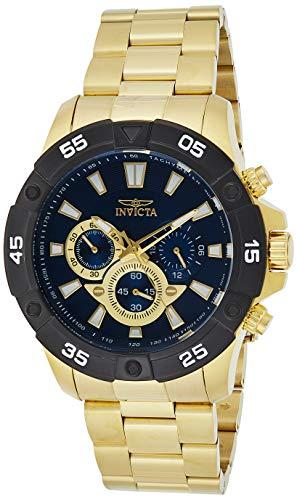 インヴィクタ インビクタ プロダイバー 腕時計 メンズ 24585 【送料無料】Invicta Men's Pro Diver Quartz Watch with Stainless-Steel Strap, Gold, 24 (Model: 24585)インヴィクタ インビクタ プロダイバー 腕時計 メンズ 24585
