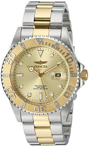 インヴィクタ インビクタ プロダイバー 腕時計 メンズ 23478 【送料無料】Invicta Men's Pro Diver Quartz Watch with Stainless-Steel Strap, Two Tone, 21.5 (Model: 23478)インヴィクタ インビクタ プロダイバー 腕時計 メンズ 23478