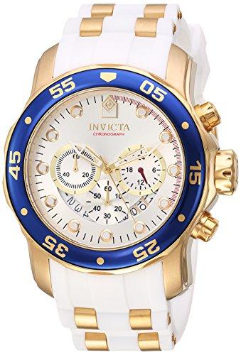 インヴィクタ インビクタ プロダイバー 腕時計 メンズ 20293 Invicta Men's Pro Diver Stainless Steel Quartz Watch with Silicone Strap, White, 1 (Model: 20293)インヴィクタ インビクタ プロダイバー 腕時計 メンズ 20293
