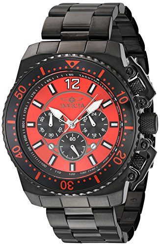 インヴィクタ インビクタ プロダイバー 腕時計 メンズ 21958 Invicta Men's Pro Diver Quartz Watch with Stainless-Steel Strap, Black, 24 (Model: 21958)インヴィクタ インビクタ プロダイバー 腕時計 メンズ 21958