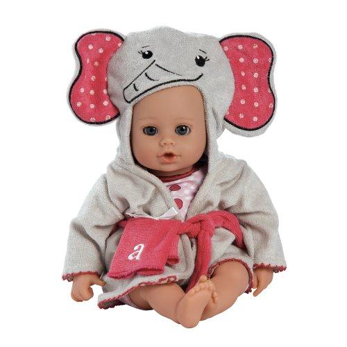 買い誠実 アドラベビードール 20253010 赤ちゃん リアル 本物そっくり おままごと for 20253010 Adora 本物そっくり BathTime Elephant 13