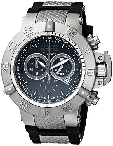 腕時計 インヴィクタ インビクタ サブアクア メンズ 1380 【送料無料】Invicta Men's 1380 Subaqua Noma III Chronograph Black Dial Black Silicone Watch腕時計 インヴィクタ インビクタ サブアクア メンズ 1380