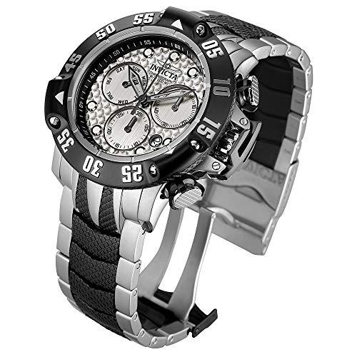 インヴィクタ インビクタ サブアクア 腕時計 メンズ 23804 【送料無料】Invicta Men's Subaqua Quartz Watch with Stainless-Steel Strap, Silver, 26 (Model: 23804)インヴィクタ インビクタ サブアクア 腕時計 メンズ 23804