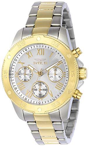 インヴィクタ インビクタ 腕時計 レディース 21733 Invicta Women's Wildflower Quartz Watch with Stainless-Steel Strap, Two Tone, 18 (Model: 21733)インヴィクタ インビクタ 腕時計 レディース 21733